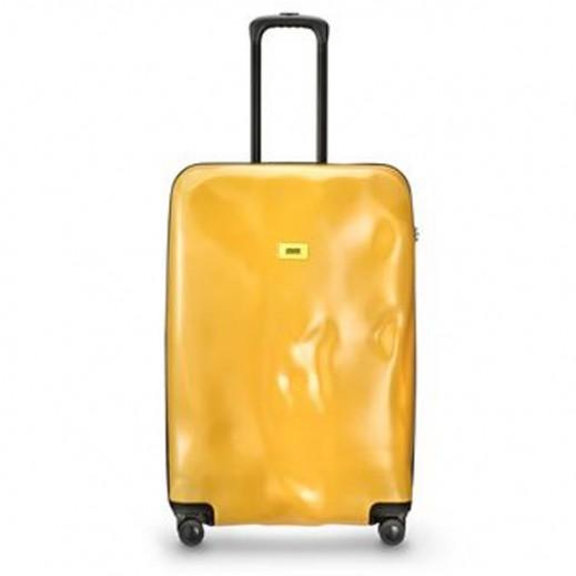Crash Baggage Spinner Suitcase Mustard Yellow 04 - Medium (64 X 40 X 26 cm)