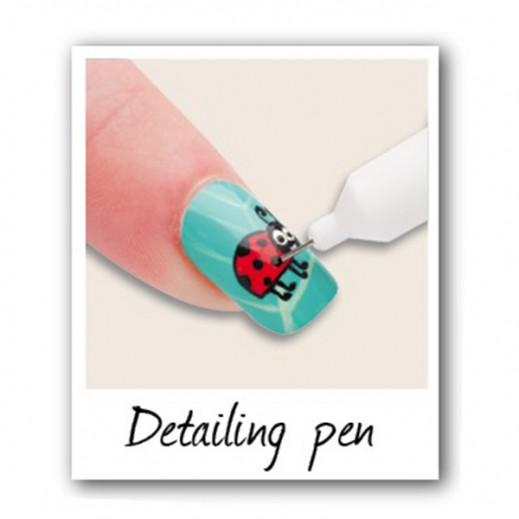 Buy Rio Classic Professional Nail Art Pen Set Of 6 Npen2
