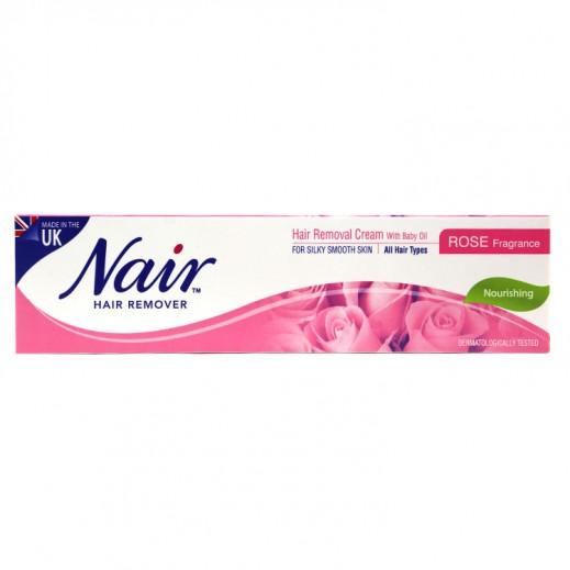 Nair Hair Removal Cream Rose Fragrance 110 g