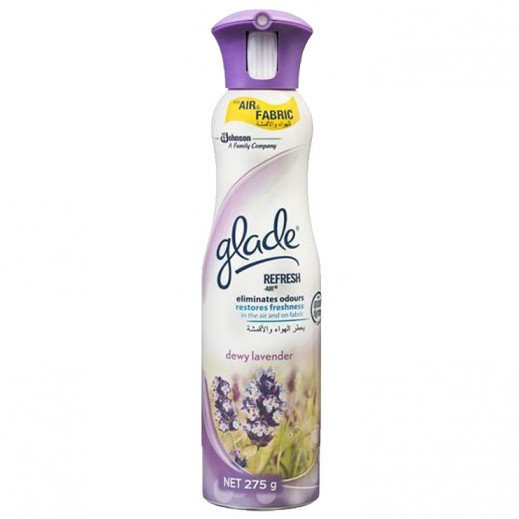 Glade Refresh Air Dewy Lavander Air Freshener 275 ml