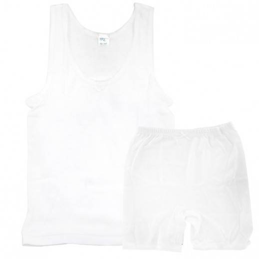Try Girls Vest & Half Pants Set (7 - 8 Years) To (15 - 16 Years)