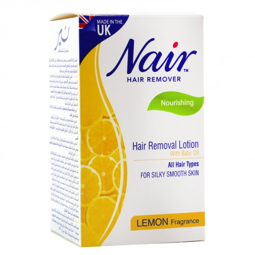 Nair Hair Removal Lotion Lemon Fragrance 120 ml