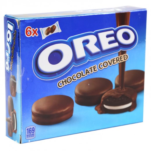 Oreo Chocolate Covered Biscuits 6x34 g