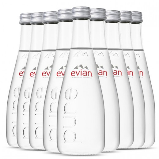 Evian Natural Mineral Water Bottle 20 x 330 ml