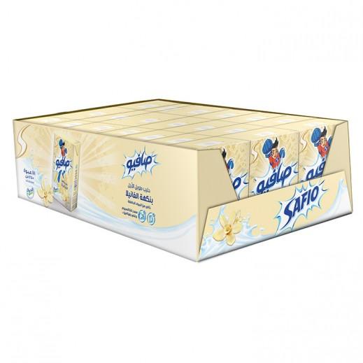 Safio Vanilla Flavoured Milk 125 ml (18 Pieces)