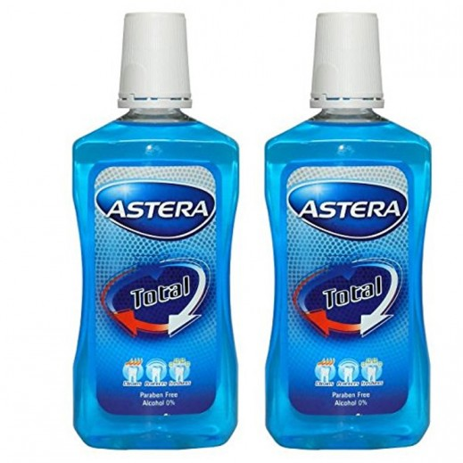 Astera Xtreme Power White Mouthwash 300 ml (2 pIeces)