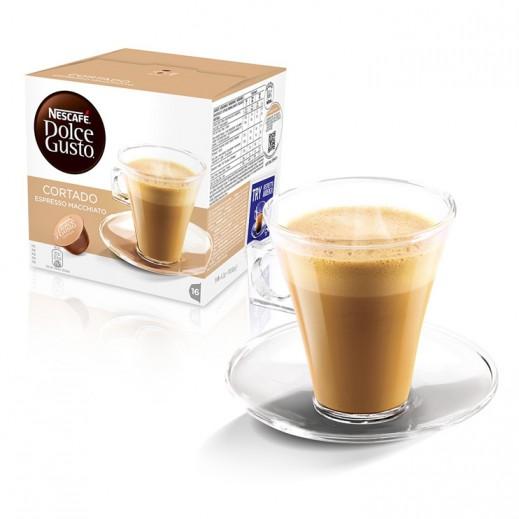 Nescafe Dolce Gusto Cortado 100.8 g (16 capsules)