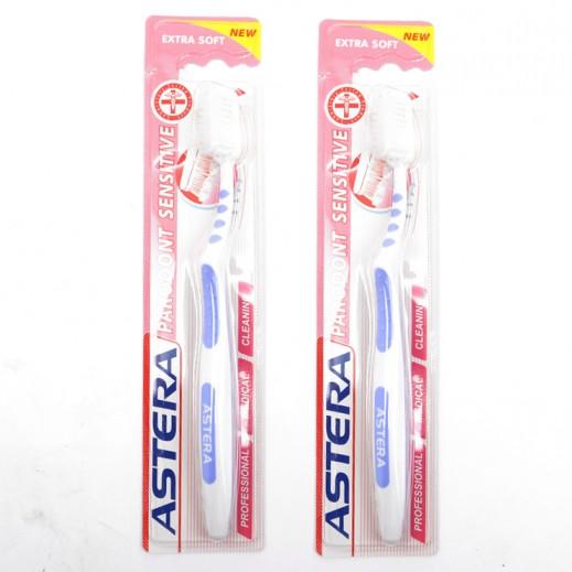 Valuepack - Astera Parodont Sensitive Toothbrush (2 Pieces)