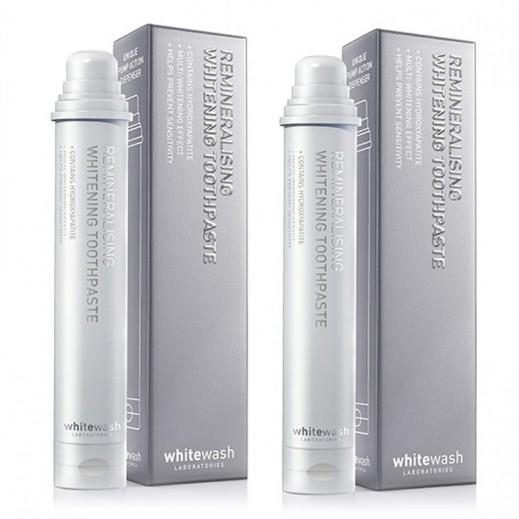 Whitewash Laboratories Remineralising Whitening Toothpaste 80 ml (2 Pieces)