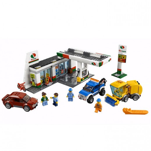 Lego City 2 in 1 Service Station (Age 7+)
