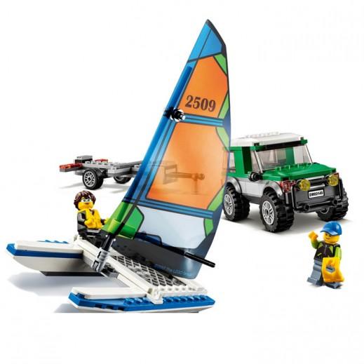 Lego City 4x4 With Catamaran (Age 5+)