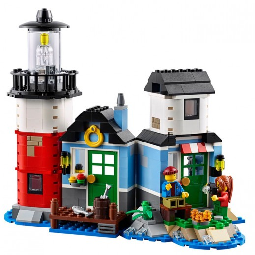 Lego Creator 3 in 1 Lighthouse Building (Age 8+)