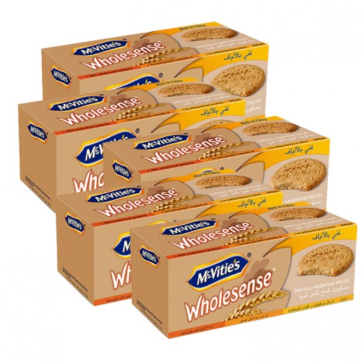 Value pack- Mc Vitie's Wholesense Biscuits 400 g (5 pieces)