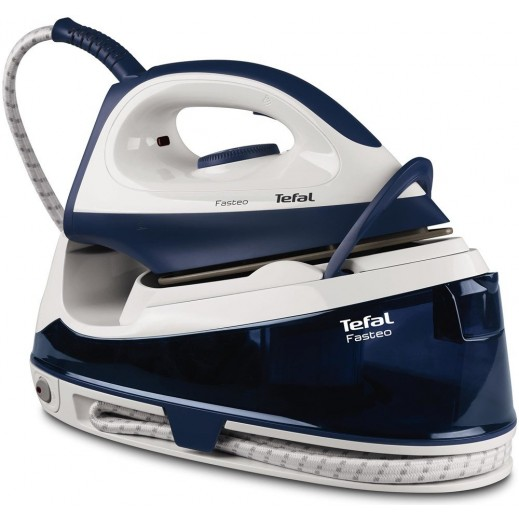 Tefal Steam Iron 1.2L 2200W – White and Blue - delivered by Mohammad Nasser Al Hajeri