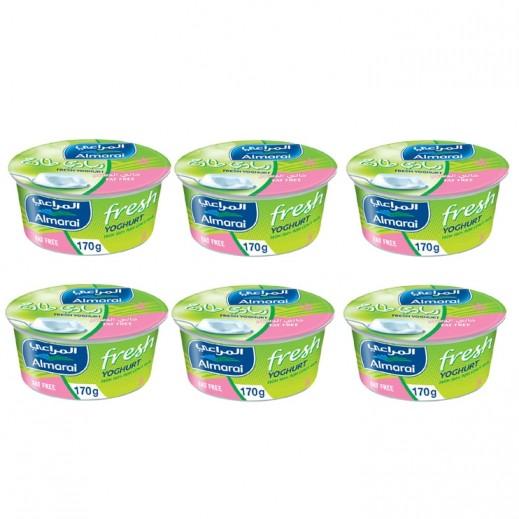 Almarai Skimmed Yoghurt 6 x 170 g