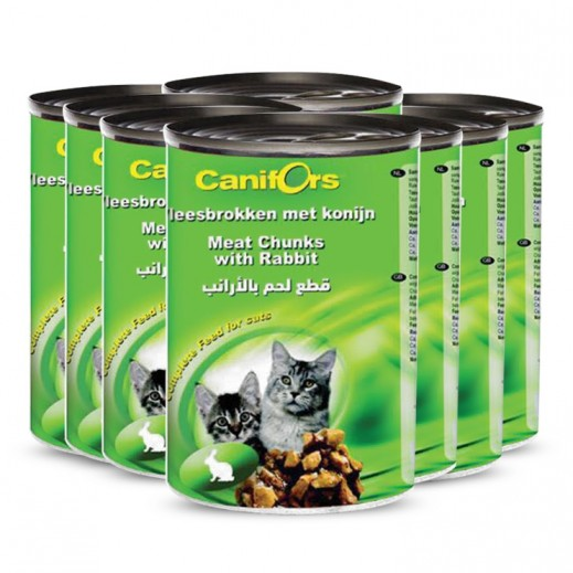 Canifors Cat Food With Rabbit 8x410 g