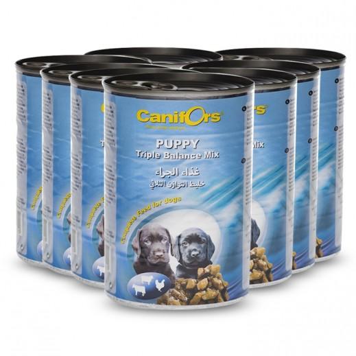 Canifors Dog Food Puppy Triple Balance 8x410 g