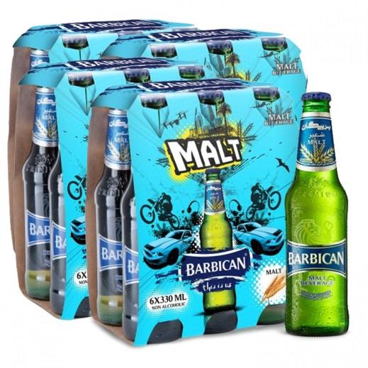 Wholesale - Barbican Regular Malt Beverage 330 ml (4x6 pieces)