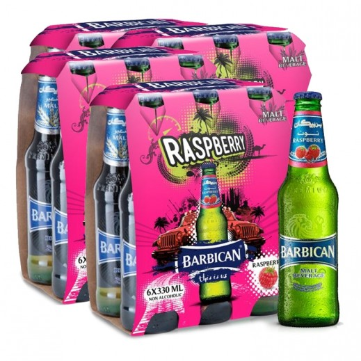 Wholesale - Barbican Raspberry Malt Beverage 330 ml ( 4x 6 pieces)