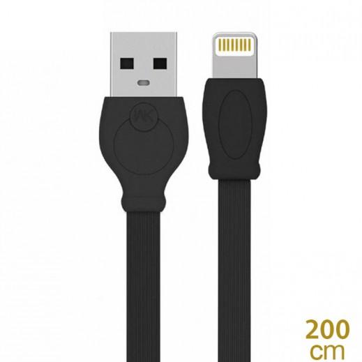 WK Design lightning Cable for Apple 2 M – Black