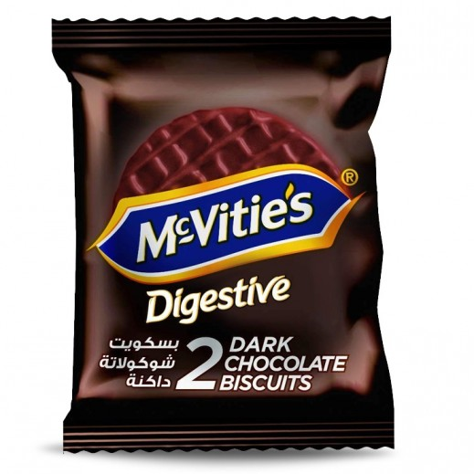 Mc Vitie's Digestive Dark Chocolate Biscuits 33.3 g