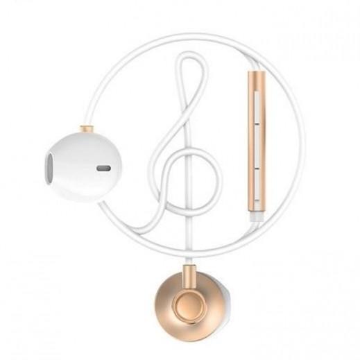 WK Design Wired Earphones 1.2 M – Gold