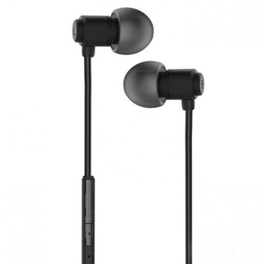WK Design Wired Earphones 1.2 M – Black