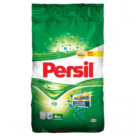 Persil Detergent Powder Front and Top Load 6 kg