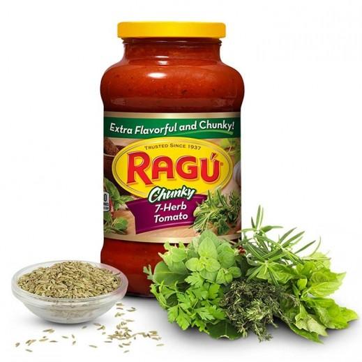 Ragu 7 Herb Chunky Tomato Sauce 680 g