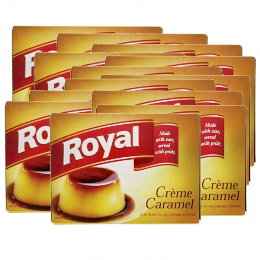 Royal Cream Caramel Mix 77 g (10+2 Free)