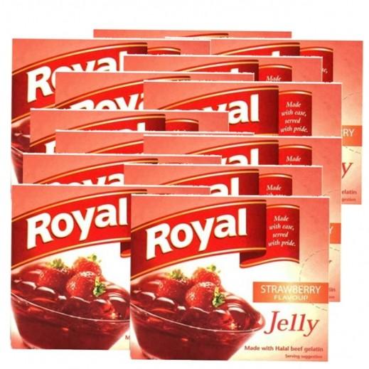 Royal Gelatin Dessert Strawberry 85 g 10+2 Free