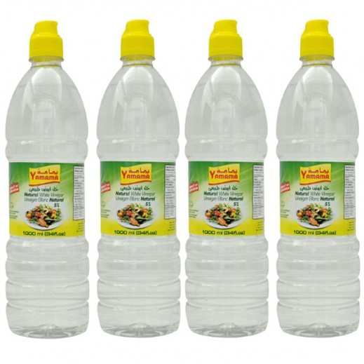 Yamama White Vinegar 4 x 1 L