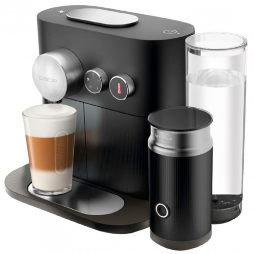 Nespresso Expert & Milk Coffee Machine - Black