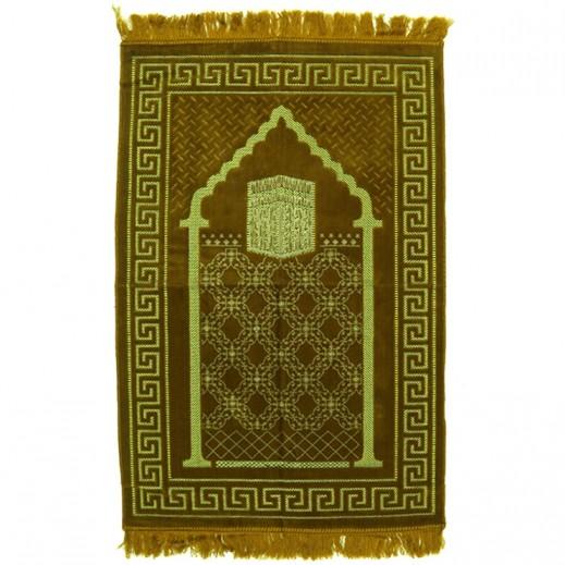 Prayet Mat Golden Brown and Yellow