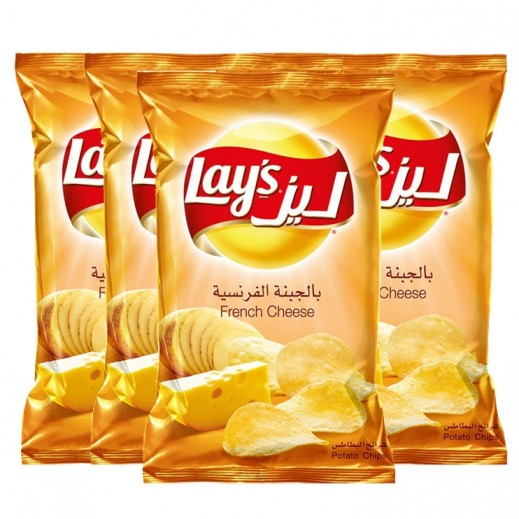 Lays French Cheese Chips 4 x 48 g