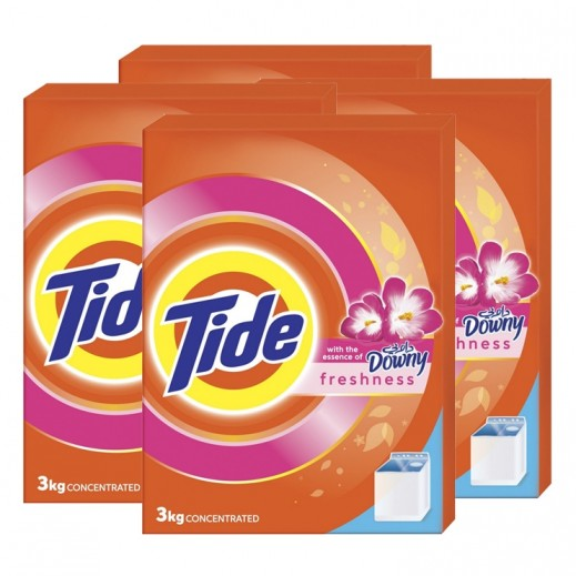 Wholesale - Tide  With Downy Essence 4x3 kg