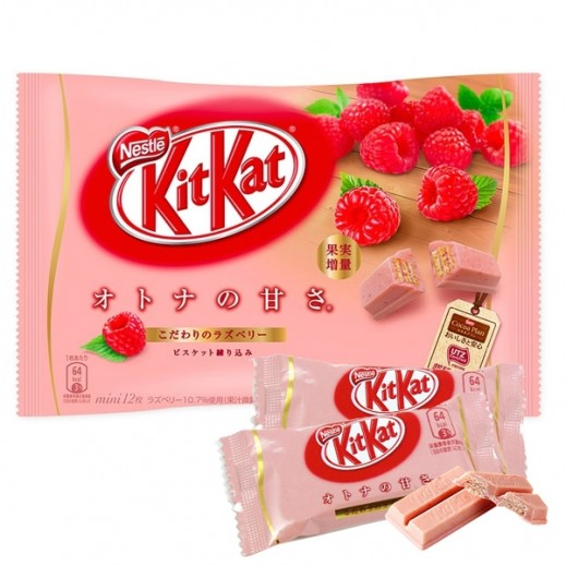 Nestle Kit Kat Raspberry 135.6 g