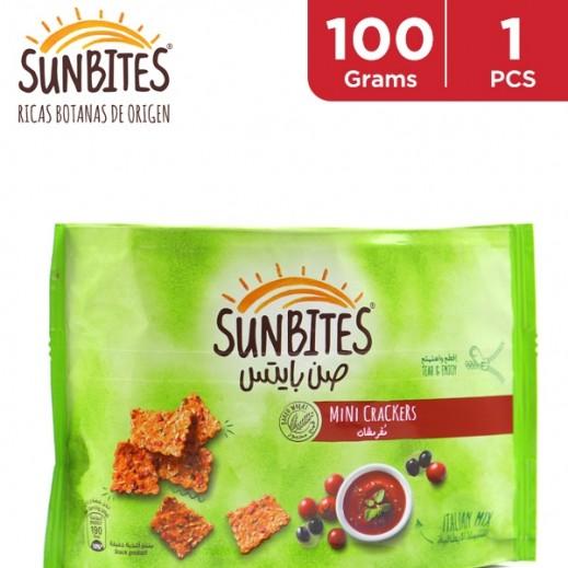 Sunbites Italian Mix Mini Crackers 100 g