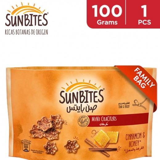 Sunbites Cinnamon & Honey Mini Crackers 100 g