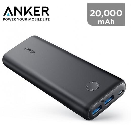 Anker PowerCore II 20000 mAh Power Bank - Black
