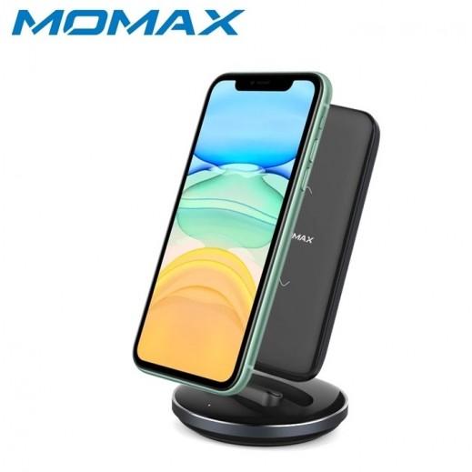 Momax Q.Power Pro Wireless Charing Dock & External Battery Pack - Black