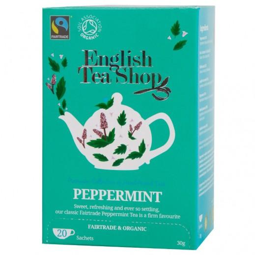 English Tea Shop Peppermint Organic Tea 20 Sachets (30 g)