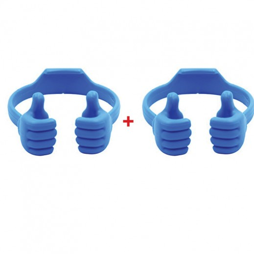 Buy 1 Get 1 Free Phone Bracket Little Thumb Blue