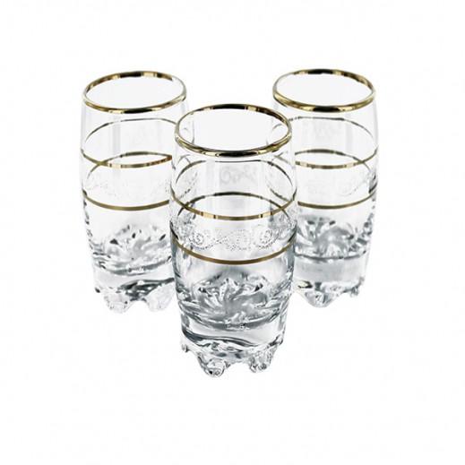 Gurallar Sultan Glass Tumbler 190 ml 6 pieces Set