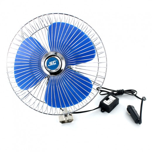 JEC 8inch Oscillating Car Fan