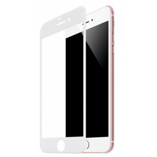 Hoco Full Tempered 3D Glass Screen Protector  for iPhone 7 / 8 plus - White