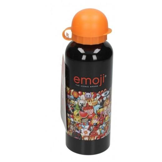 Emoji Aluminium Water Bottle Orange