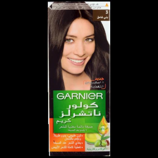Garnier Colour Naturals 3 Dark Brown Hair Color