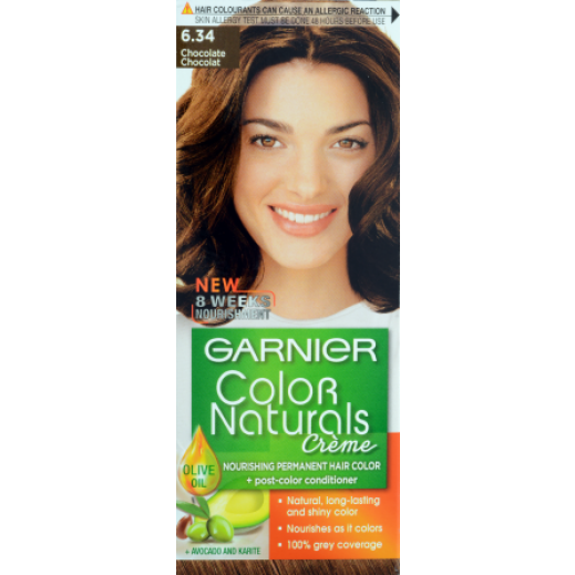 Garnier Colour Naturals 6.34 Chocolate Hair Color