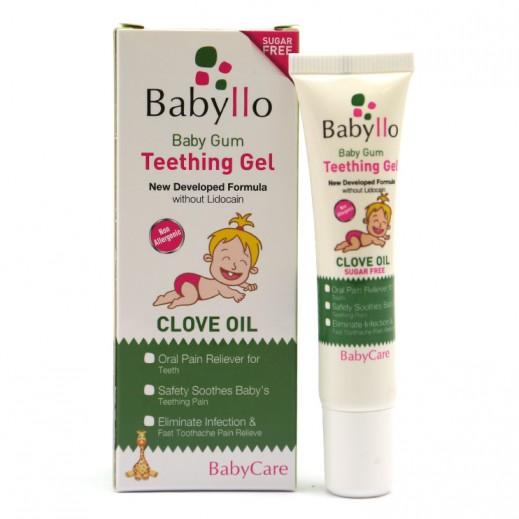 Babyllo Baby Gum Teething Gel Clove Oil 15 ml